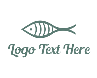 Religious - Fishy Fare logo design
