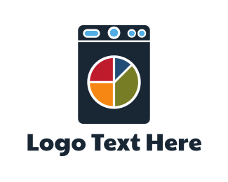 Finance - Laundry Chart logo design