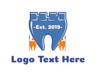 Teeth - Tooth Castle logo design