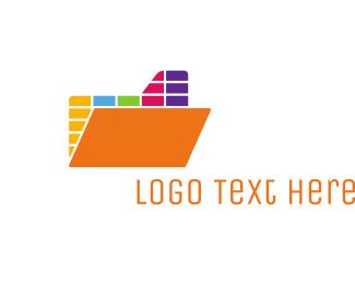 App - Colorful Mixer App logo design