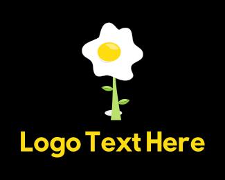 Yolk - Egg Plant logo design