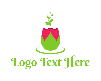 Spring - Spring Rose logo design