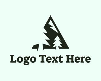 Outdoors - Pine Mountain logo design