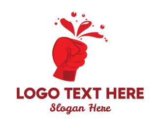 Fast Food - Ketchup Bottle logo design