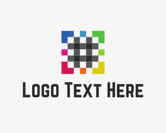 Development - Pixel Hash logo design