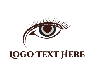 Eye - Brown Eye logo design