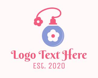 Lotion - Flower Fragance logo design