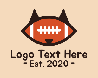 Football - Fox Football logo design