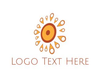Place - Sun Point logo design