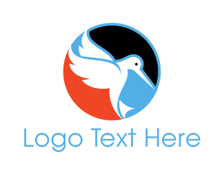 Freedom - Dove Circle logo design