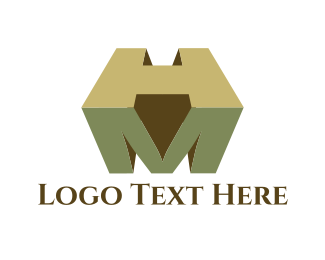 Fortune - M & H logo design