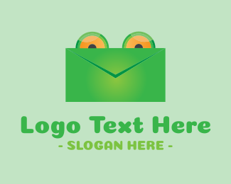 Post - Frog Mail logo design