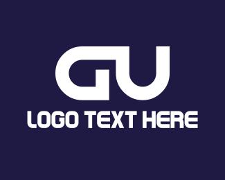 Letter U - G & U logo design