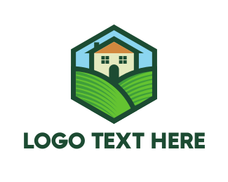 Lodge - Home Valley logo design