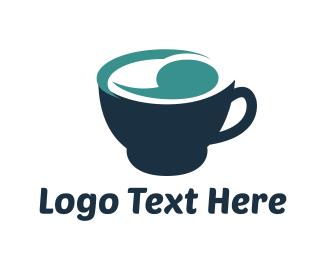 Quote - Blue Cup logo design