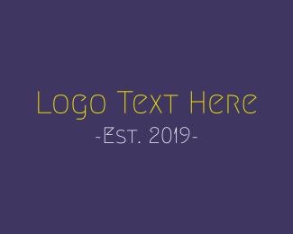 Comic - Funny & Thin logo design