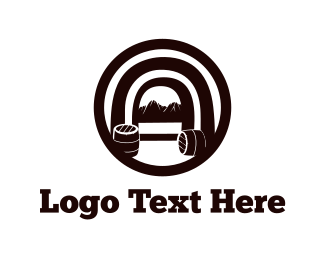 Barrel - Wine Cellar logo design