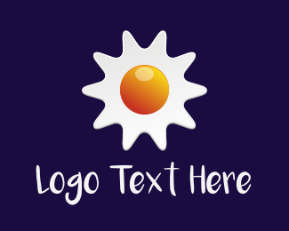 Homemade - Sun Egg logo design