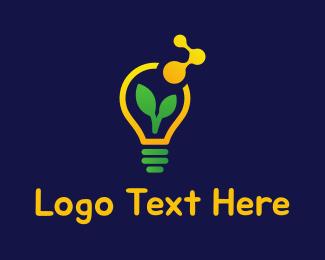 Sunlight - Eco Lignt  logo design