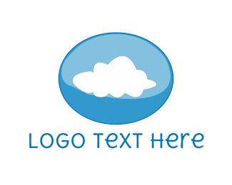 Storage - Cloud Bubble logo design
