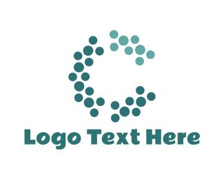 Caviar - Abstract Letter C logo design