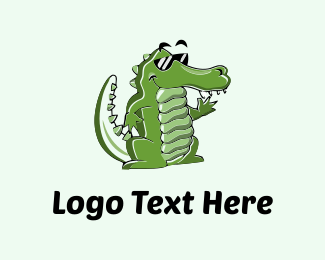 Cool - Cool Croc logo design