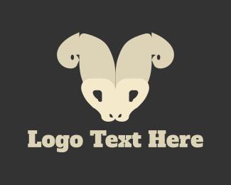 Farm - Wild Goat logo design