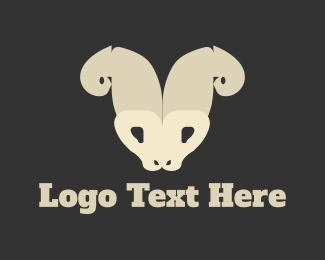 Cattle - Wild Goat logo design