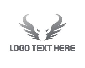 Taurus - Silver Bull logo design