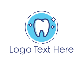 Teeth - Shinny Tooth logo design