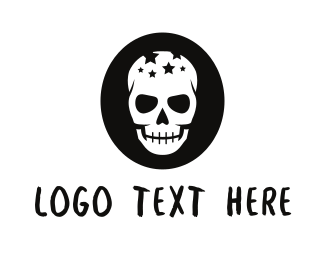 Halloween - Star Skull logo design