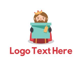 Christmas - King Box logo design