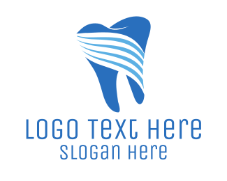 Tooth - Tooth Stripes logo design