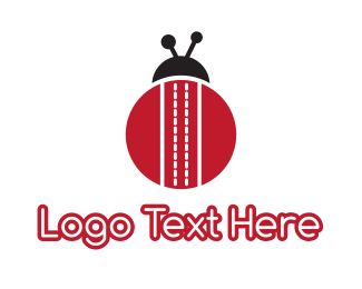 Beetle - Striped Bug logo design