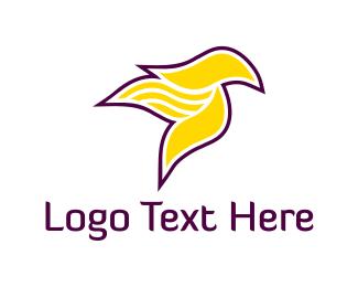 Cardinal - Yellow Bird logo design