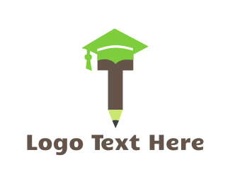 Teach - Graduation Pencil logo design