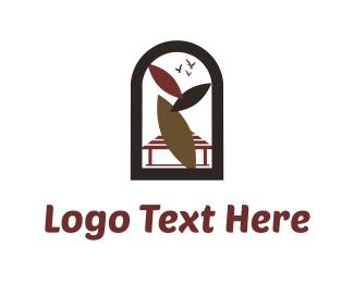 Exotic - Arc Window logo design