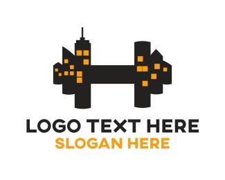 Trainer - City Gym logo design