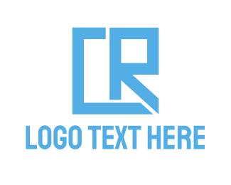 Gaming - Geometric CR Gaming logo design