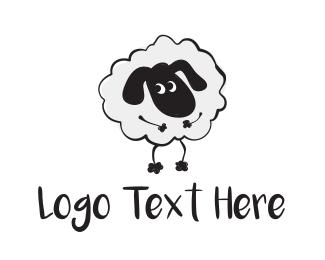Wool - Cute Sheep logo design