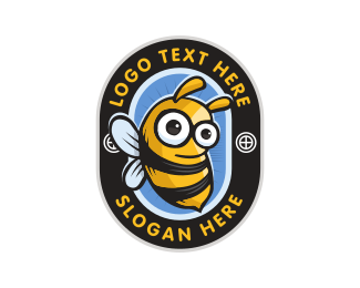 Honeybee - Little Bee logo design