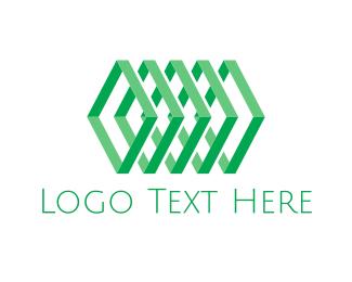 """""""Geometric Green Chain"""" by Alexxx"""