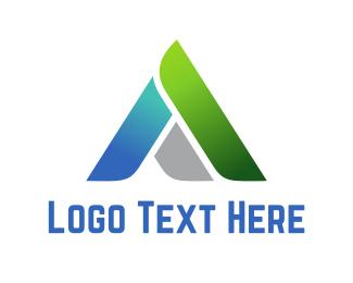 Tech Letter A Logo