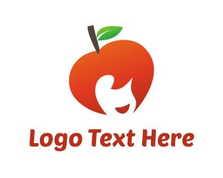 Apple Girl Logo