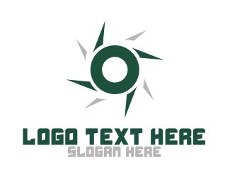 Blade - Spinning Blade O logo design