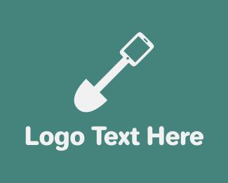 Dig - App Spade logo design