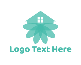 Feng Shui - Blooming House logo design
