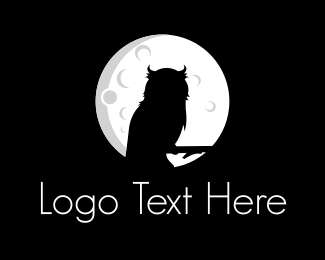 Moonlight - Night Owl logo design