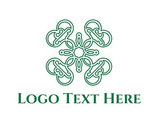 Drapery - Green & Elegant logo design