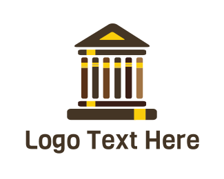 Greek - Greek Library logo design